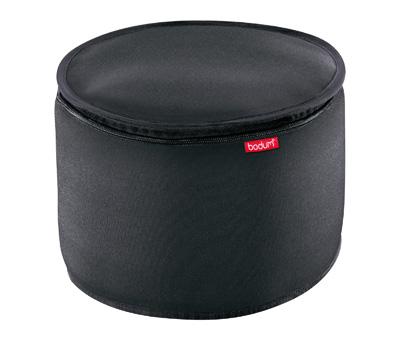 boite de rangement ronde noire nero bodum 11024 01 acheter ce produit au meilleur prix. Black Bedroom Furniture Sets. Home Design Ideas