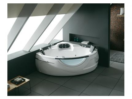 baignoire baln o design elios 2 places 159 159 h59cm 336l 16 jets de massage air et eau. Black Bedroom Furniture Sets. Home Design Ideas