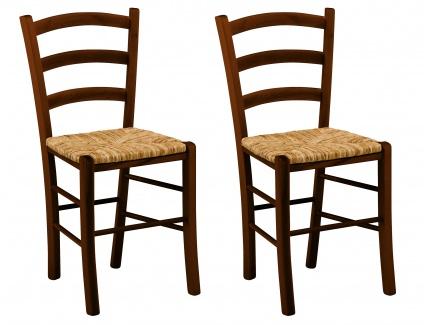 lot de 2 chaises paysanne h tre massif assise en paille de riz acheter ce produit au. Black Bedroom Furniture Sets. Home Design Ideas