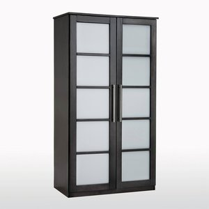 armoire pin l100 cm penderie ling re bolton acheter ce produit au meilleur prix. Black Bedroom Furniture Sets. Home Design Ideas