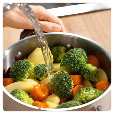 Des légumes bien croquants