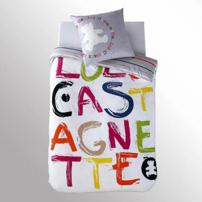 Parure Housse De Couette 1 Taie Colorama By Lulu Castagnette