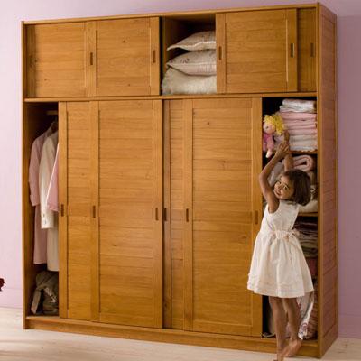 armoire 4 portes avec surmeuble m lissa miel anniversaire 40 ans acheter ce produit au. Black Bedroom Furniture Sets. Home Design Ideas