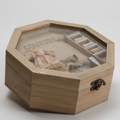 Boite couture en bois 24cm jules acheter ce produit au for Acheter boite a couture