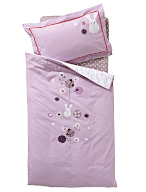 housse de couette bebe fleurettes vertbaudet acheter ce. Black Bedroom Furniture Sets. Home Design Ideas