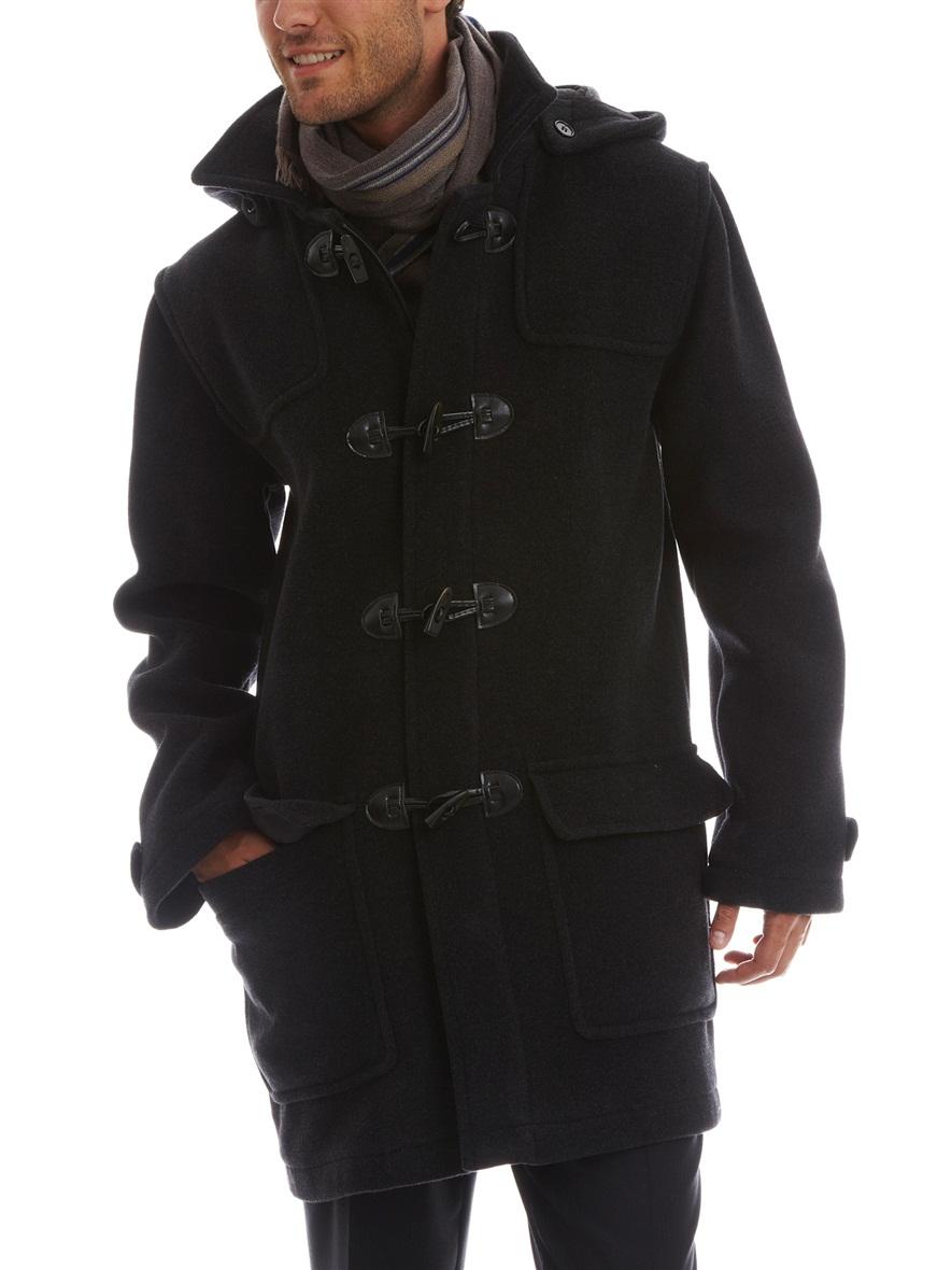 duffle coat homme capuche acheter ce produit au. Black Bedroom Furniture Sets. Home Design Ideas