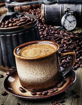 La caféine surexcitante