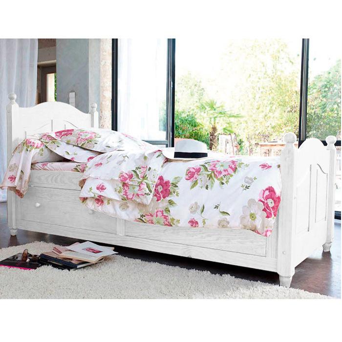 lit 90 x 190 cm 2 tiroirs norman blanc anniversaire 40 ans acheter ce produit au meilleur. Black Bedroom Furniture Sets. Home Design Ideas