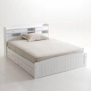 lit avec t te de lit pin massif grimsby acheter ce produit au meilleur prix. Black Bedroom Furniture Sets. Home Design Ideas