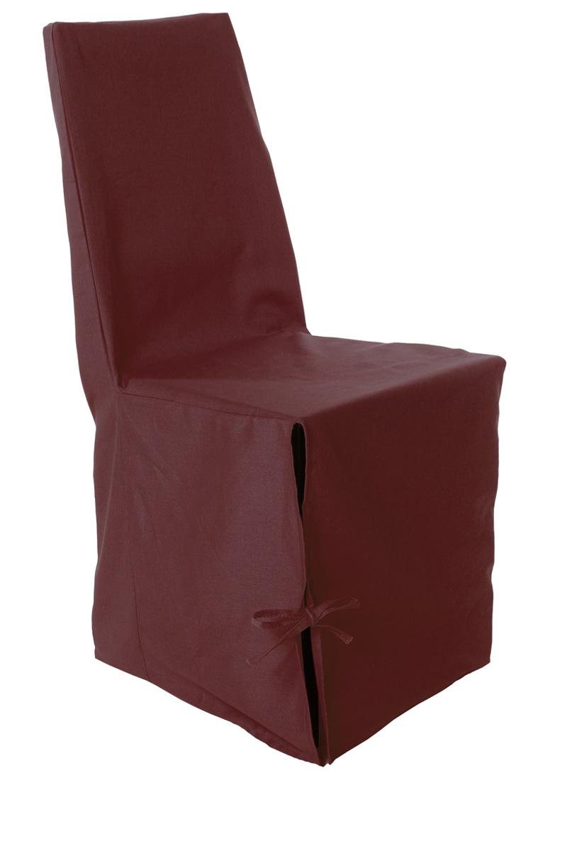 Housse de chaise panama uni 100 x 50 x 34 cm acheter ce - Tati housse de chaise ...