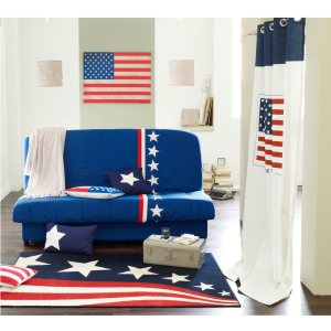 housse pour socle de clic clac coordonn e 39 stars and stripes 39 acheter ce produit au meilleur. Black Bedroom Furniture Sets. Home Design Ideas