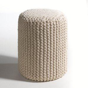 housse maille tricot e pour pouf oups acheter ce produit au meilleur prix. Black Bedroom Furniture Sets. Home Design Ideas
