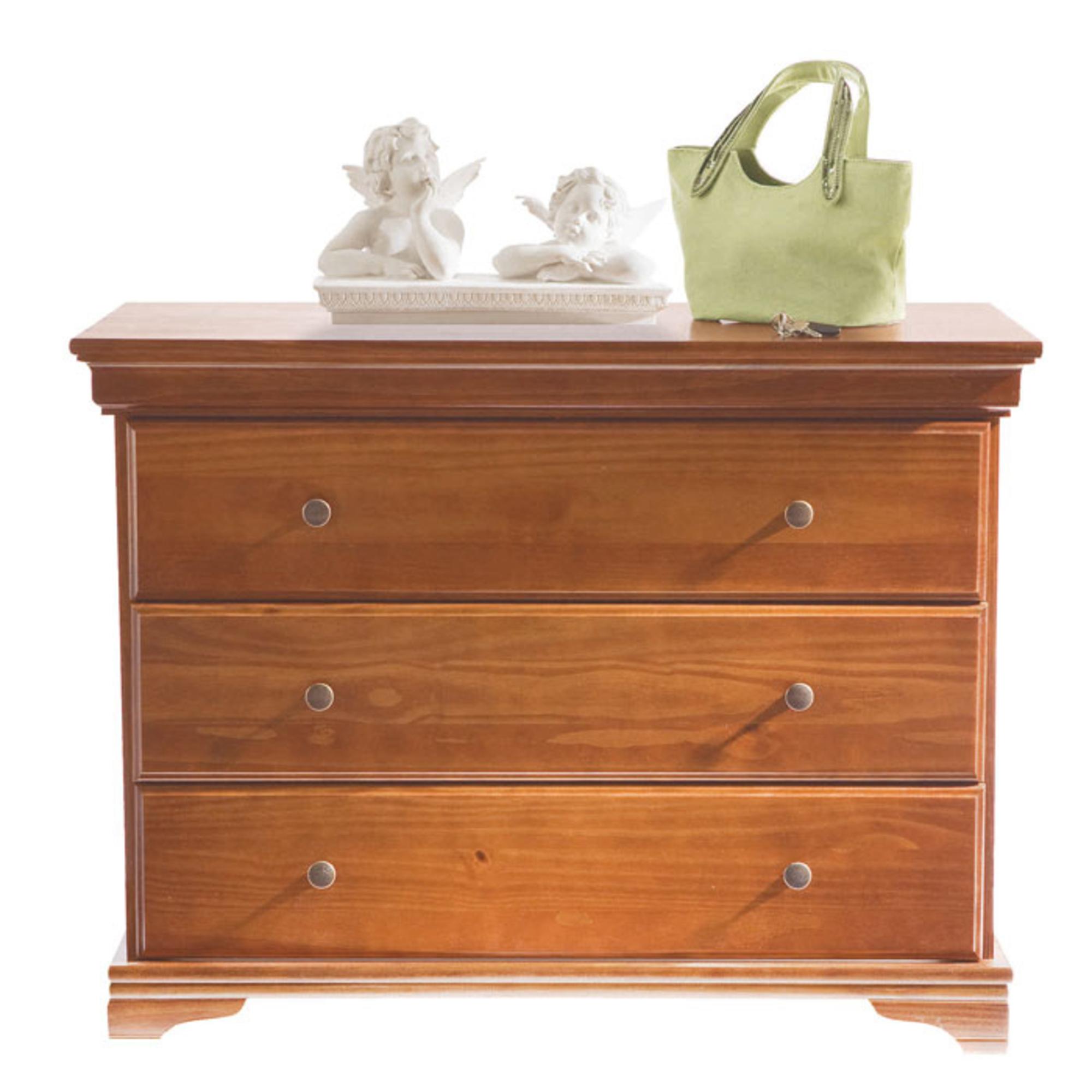Commode 3 tiroirs style louis philippe merisier anniversaire 40 ans acheter ce produit au - Ruimte stijl louis philippe ...