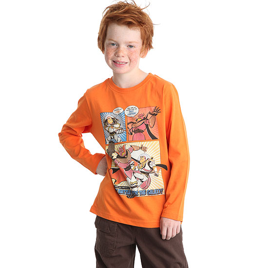 tee-shirt col rond 'toy story'