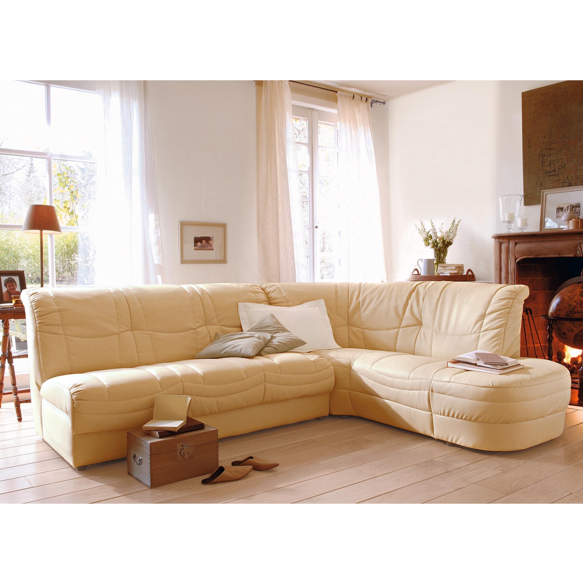 canap d 39 angle droite 5 places convertible capitole rev tement beige anniversaire 40 ans. Black Bedroom Furniture Sets. Home Design Ideas