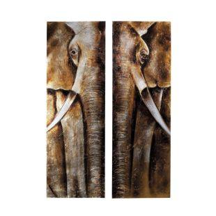 Tableau Elephant Maison Du Monde Deappelsupport