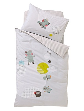 housse de couette bebe planete doudous vertbaudet acheter ce produit au meilleur prix. Black Bedroom Furniture Sets. Home Design Ideas