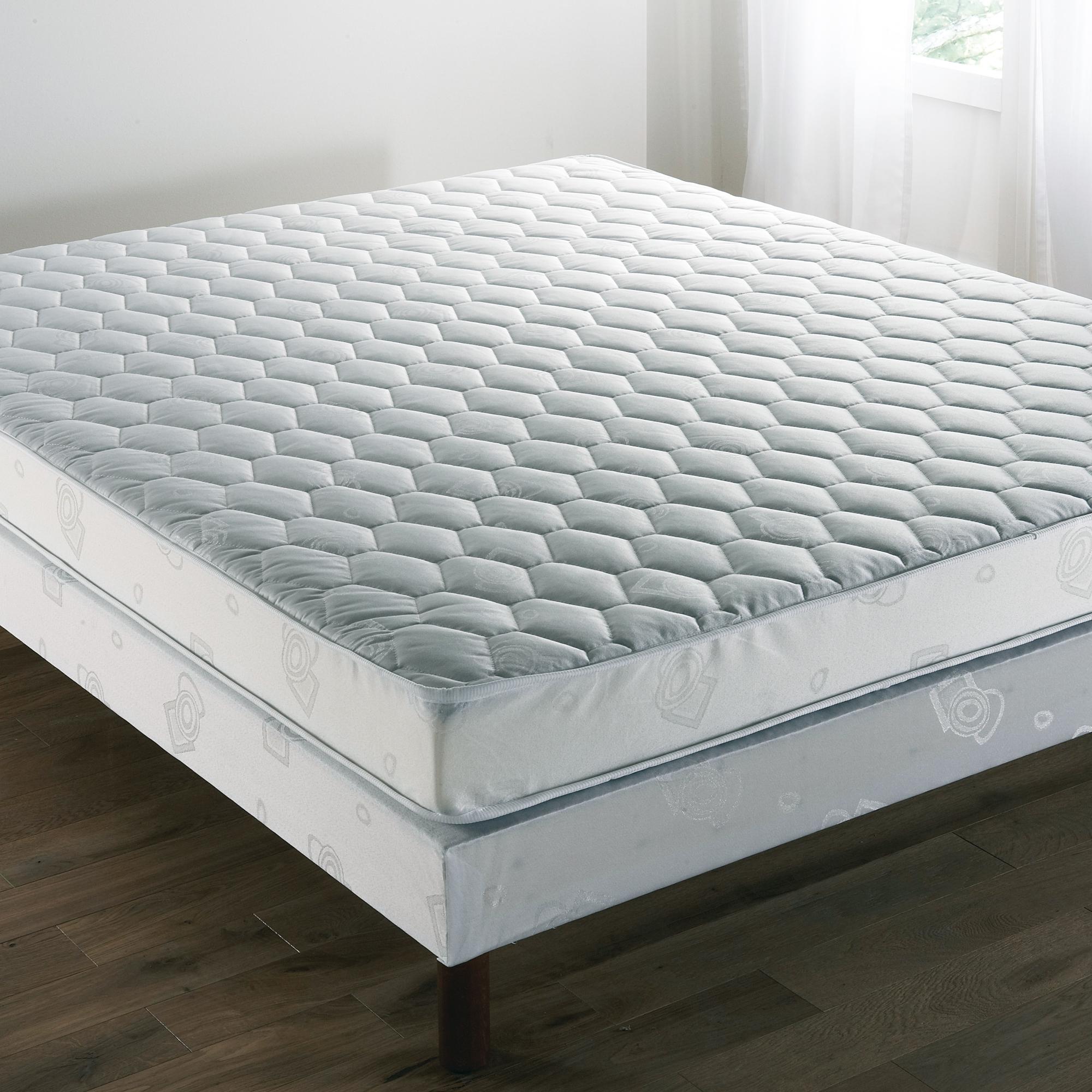 ensemble matelas confort ferme sommier tapissier. Black Bedroom Furniture Sets. Home Design Ideas