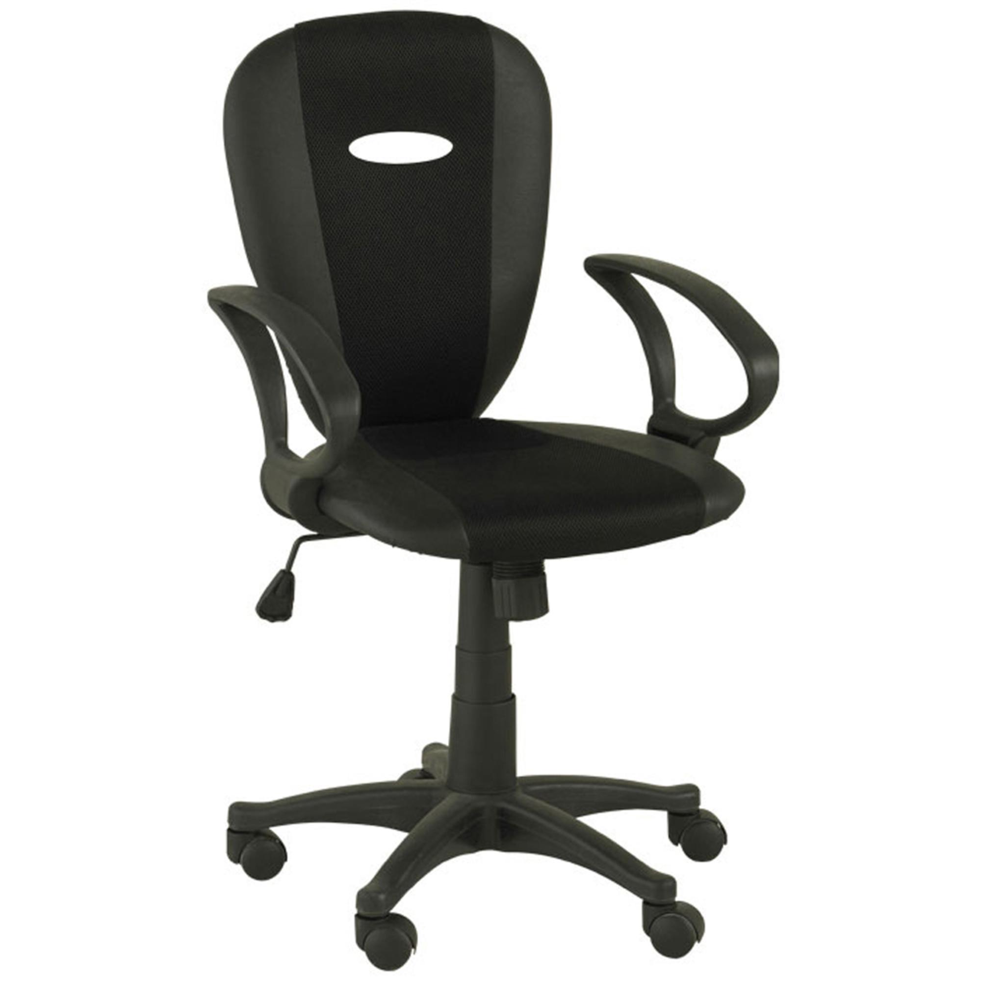 Chaise de bureau marissa noir frais de traitement de for Bureau commande