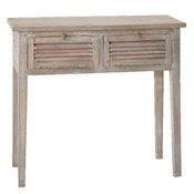 console 2 tiroirs longueur 96 x hauteur 86cm bois manguier vieilli newport acheter ce produit. Black Bedroom Furniture Sets. Home Design Ideas
