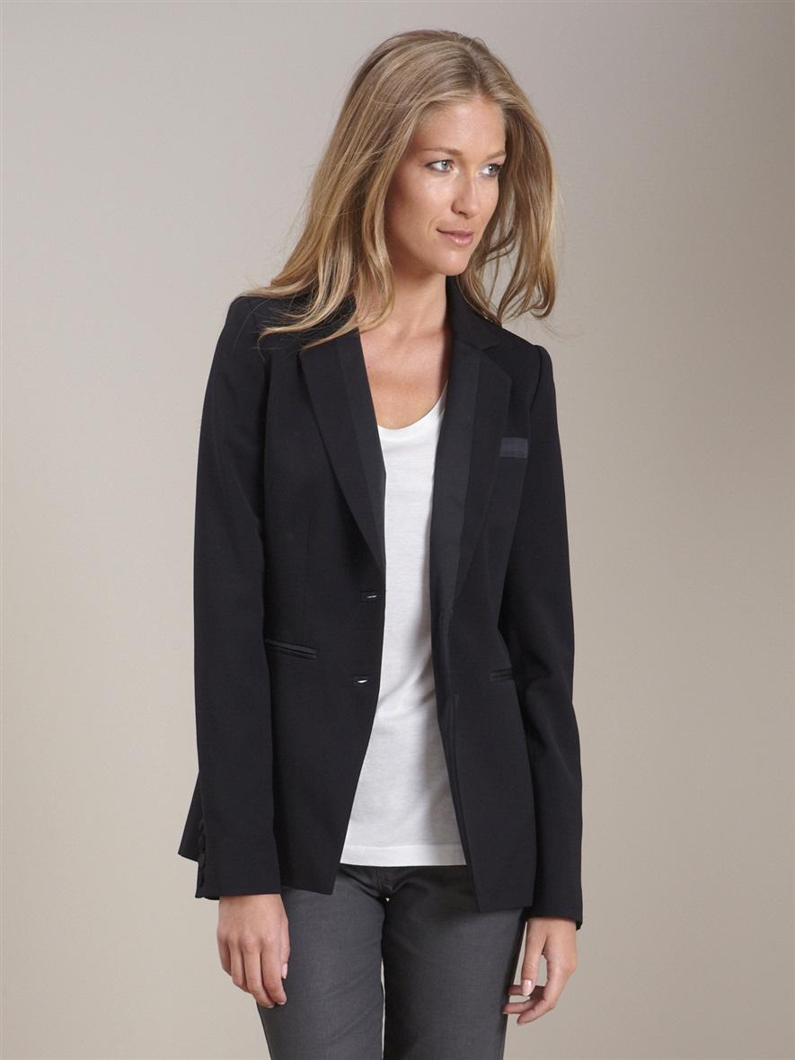 veste smoking de tailleur femme acheter ce produit au meilleur prix. Black Bedroom Furniture Sets. Home Design Ideas