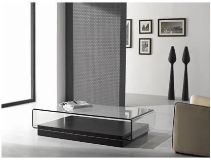 fiche boutique table basse gloss noir