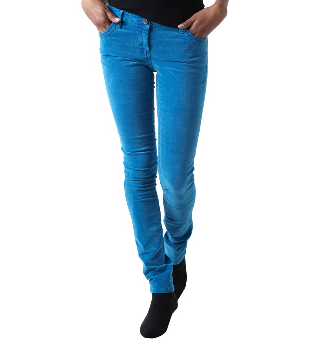 Pantalones mujer de terciopelo lisos para 8n0wOkP