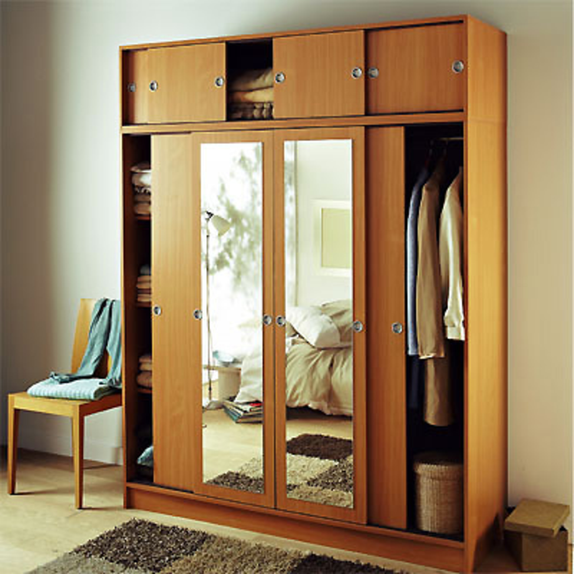 armoire avec porte coulissante images. Black Bedroom Furniture Sets. Home Design Ideas