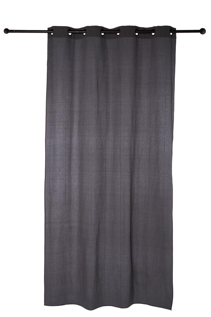 2 rideaux oeillets 2 x 140 x 260 cm acheter ce produit au meilleur prix. Black Bedroom Furniture Sets. Home Design Ideas