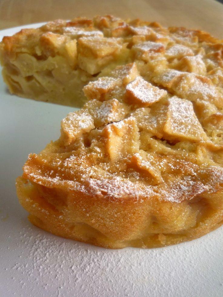 Délicieux gâteau aux pommes