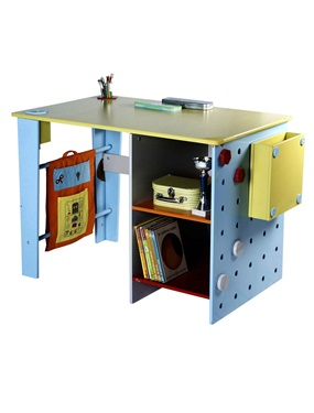 bureau enfant robot story vertbaudet acheter ce produit. Black Bedroom Furniture Sets. Home Design Ideas