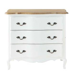 commode blanche et orme sophie acheter ce produit au meilleur prix. Black Bedroom Furniture Sets. Home Design Ideas