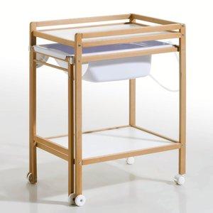 La table langer avec baignoire coulissante acheter ce - Table a langer sur roulette ...