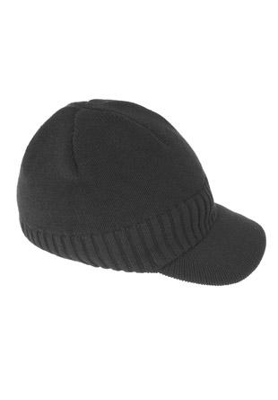 Bonnet 100% coton tricot avec visière celio
