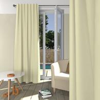rideau occultant pattes cach es en satin r versible tertio 12 coloris au choix acheter ce. Black Bedroom Furniture Sets. Home Design Ideas