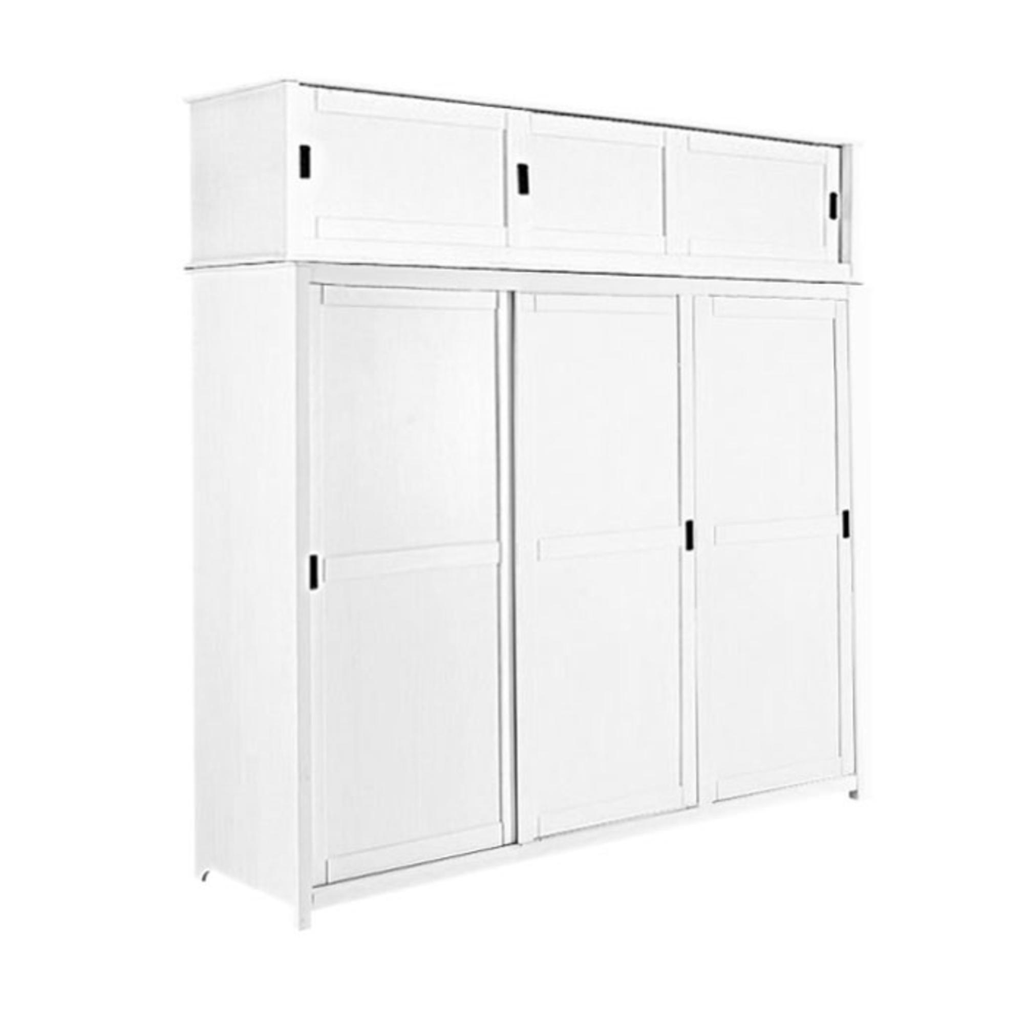 #1A1A1A Armoire 3 Portes   Surmeuble Infinie Blanc  1019 armoire portes coulissantes et surmeuble 2000x2000 px @ aertt.com