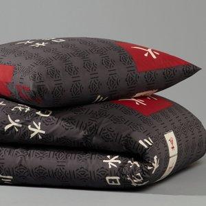 housse de couette taie shangai gris acheter ce produit au meilleur prix. Black Bedroom Furniture Sets. Home Design Ideas