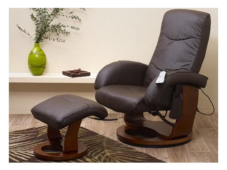 fauteuil de relaxation massant buffalo cuir chocolat acheter ce produit au meilleur prix. Black Bedroom Furniture Sets. Home Design Ideas