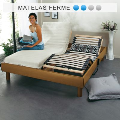 matelas latex grand confort ferme 5 zones s l nia pour sommier lectrique acheter ce produit. Black Bedroom Furniture Sets. Home Design Ideas