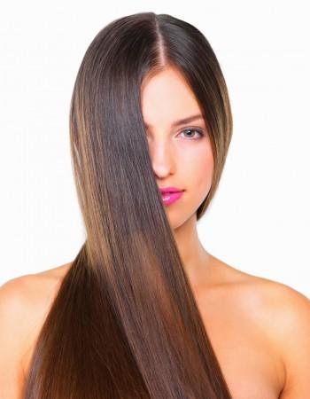 Des cheveux hyper soyeux
