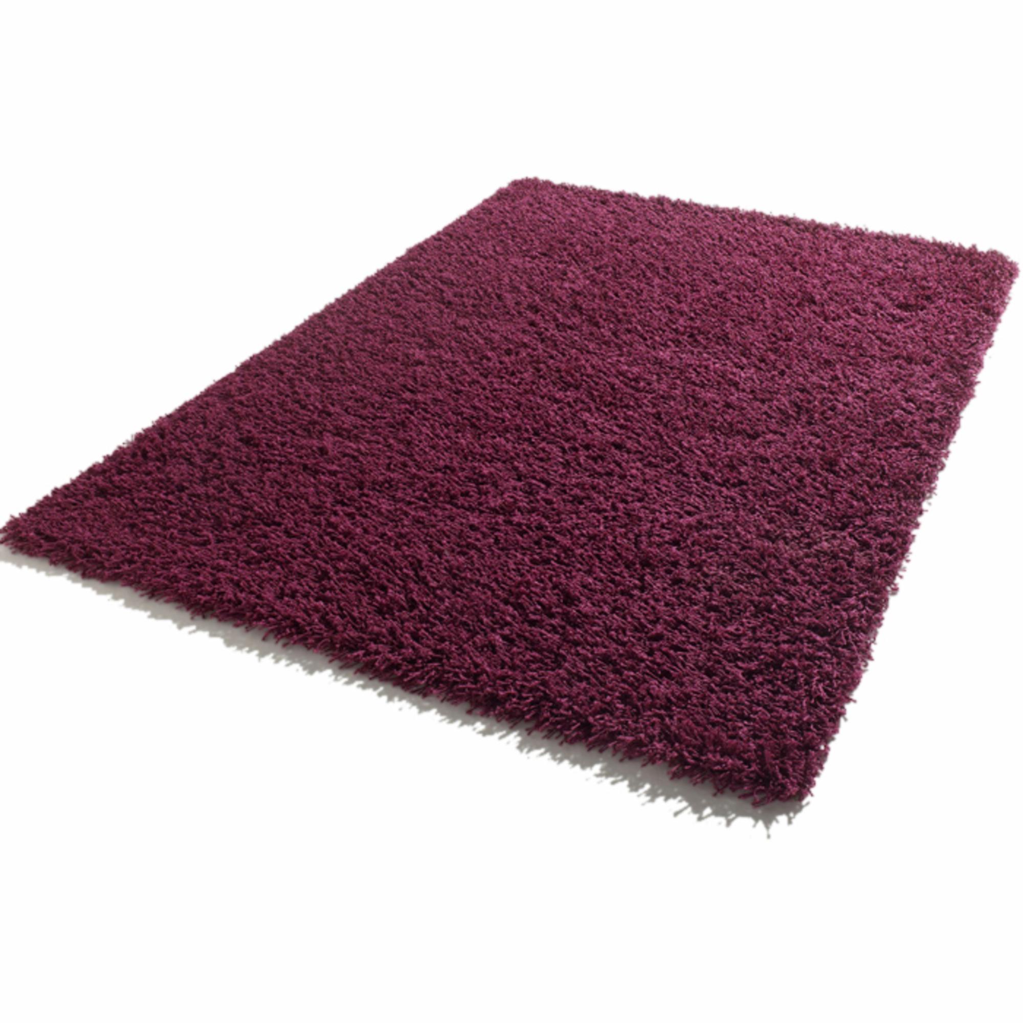 tapis longues m ches 120 x 170 cm shaggy prune frais de traitement de commande offerts. Black Bedroom Furniture Sets. Home Design Ideas