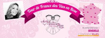 Au Moulin Rose se lance dans un Tour de France des Vies en Rose !