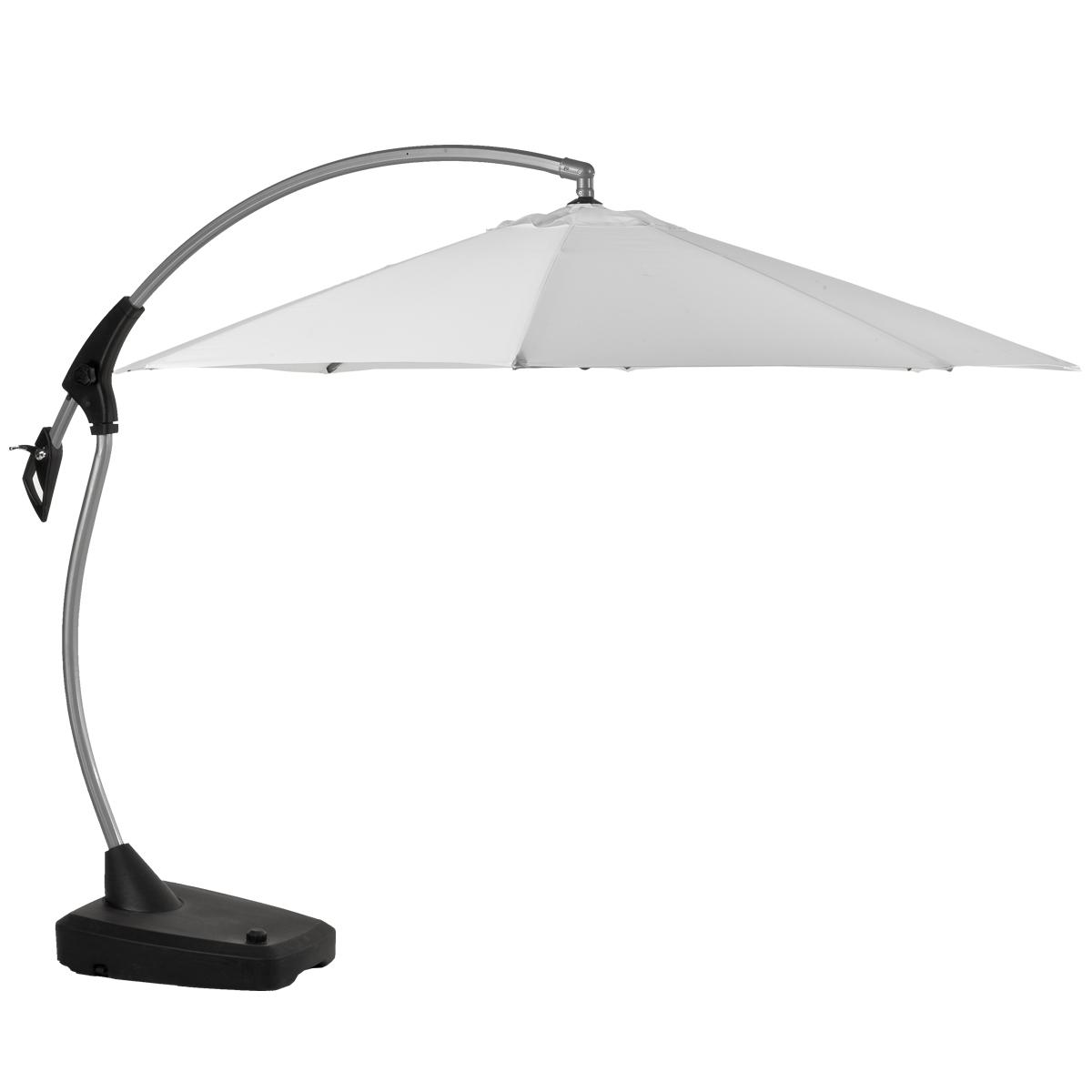 parasol d port en aluminium amalfi toile blanche diam tre 3m jardin acheter ce produit. Black Bedroom Furniture Sets. Home Design Ideas