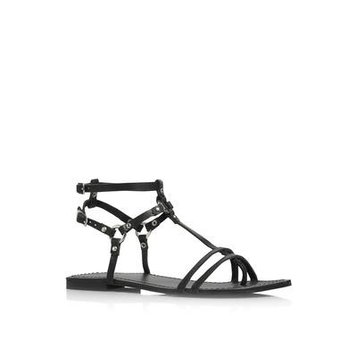 Sandale en cuir avec bride