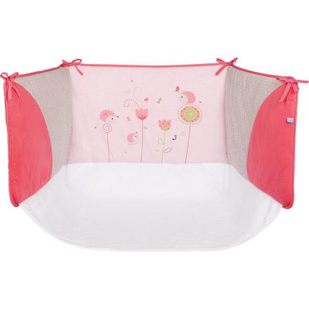 tour de lit 39 h rissons et papillons 39 60 x 120 cm acheter ce produit au meilleur prix. Black Bedroom Furniture Sets. Home Design Ideas
