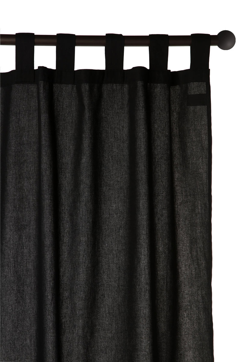 rideau noir. Black Bedroom Furniture Sets. Home Design Ideas
