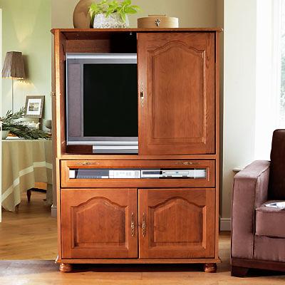 meuble cache tv 4 portes abattant vence anniversaire 40 ans acheter ce produit au meilleur. Black Bedroom Furniture Sets. Home Design Ideas