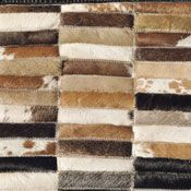 tapis assemblage de peau de vache quadrige couleur naturel taille 200x300cm acheter ce. Black Bedroom Furniture Sets. Home Design Ideas