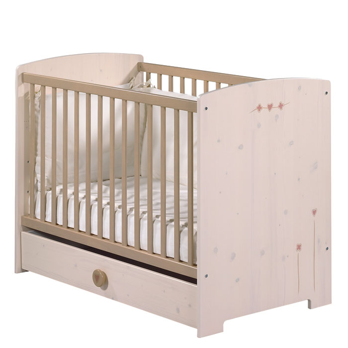 lit bebe 120x60 cm fille camille fille ou garcon anniversaire 40 ans acheter ce produit au. Black Bedroom Furniture Sets. Home Design Ideas