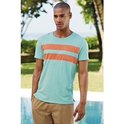 T-shirt manches courtes rayée